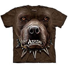 The Mountain® Angry Pitbull Tee  Back away slowly and you might just make it out alive.  88274    The Mountain® Angry Pitbull Tee      $17.98 - $19.98