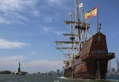 Galeón español del XVII en Nueva York