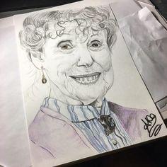Mrs Hudson by AkaJesse.deviantart.com on @DeviantArt