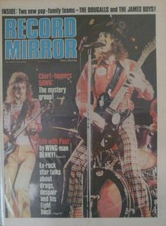 Slade on the cover of Record Mirror (UK) #Slade #70s #NoddyHolder