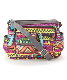 Look at this #zulilyfind! Tribu Tribal Libby Hobo by Lily Bloom #zulilyfinds