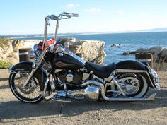 1999 Heritage Softail.  Basically perfect, my dream!