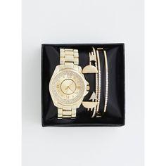 Torrid Watch & Stretch Bracelet Gift Set ($22) via Polyvore featuring jewelry, charm jewelry, bead charms, beading jewelry, fancy jewelry and elephant jewellery