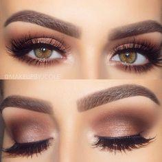 Easy and pretty eyeshadow