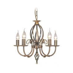 Elstead Lighting Olivia Three Light Chandelier from £113.40 with FREE delivery!