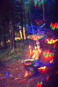 trip in the woods...