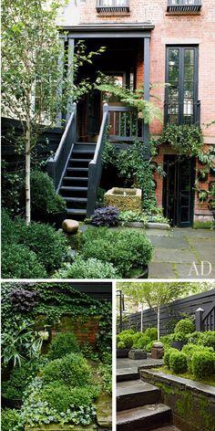 Julianne Moore's garden.