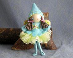 Fairy Bendy Doll by Princess NimbleThimble by PNTdolls on Etsy