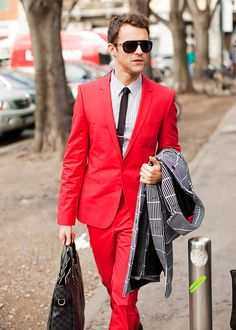 not many men can pull this off. brad goreski can do whatever he wants.