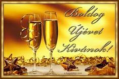 Happy New Year 2019, Wine Glass, Alcoholic Drinks, Place Card Holders, Homemade, Facebook, Tableware, Google, Scrapbook