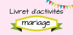 Gardez vos petits invités heureux lors de votre mariage à venir avec ce livret de mariage à télécharger rempli de coloriages et d'activités amusantes...