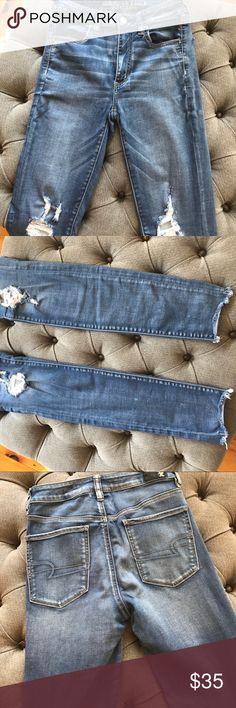 American Eagle High Waisted Jeggings In great condition!! American Eagle Outfitters Jeans Skinny