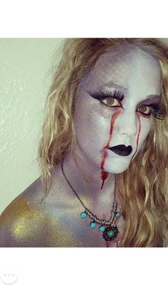 Fantasy makeup! Fairytale gone wrong! Halloween