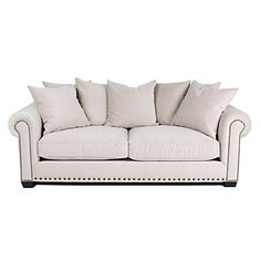Z Gallerie    Linden Sofa - Buckwheat    Love this sofa ... but I really wish it came in yellow or gray.