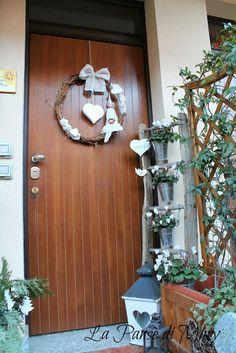 L'ingresso.. http://ifollettidilagoncill.blogspot.it/2013/12/addobbando-casa.html