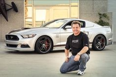 MMD And Chip Foose Transformed This 2015 Ford Mustang Into A Hellcat Killer This a joined project realized by Chip Foose and MMD (Modern Muscle Design) aimed to create a Ford Mustang that would compete with 2015 Dodge Hellcats. The car is also the big prize at the American Muscle Mustang Show, so one lucky guy will get his hands on it. The base for this car is a 2015...
