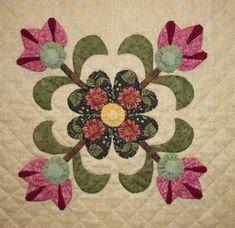 Боковые  цветы- оригами