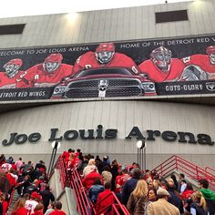 Joe Louis Arena: We're called Hockeytown for a reason.