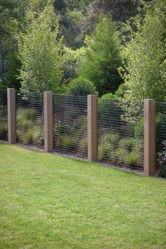 Dune Garden Matthew Cunningham Landscape Design LLC is part of Fence - Backyard Privacy, Backyard Fences, Diy Fence, Farm Fence, Hog Wire Fence, Outdoor Fencing, Fenced In Backyard Ideas, Cattle Panel Fence, Chicken Wire Fence