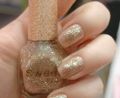Denise3988's save of Golden Sweet Color 12ml Nail Polish [586] on Wanelo