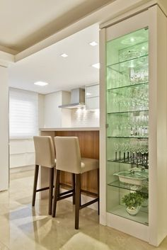 Home Decorating Trends 2018 Kitchen Room Design, Kitchen Cabinet Design, Living Room Kitchen, Home Decor Kitchen, Living Room Decor, Room Partition Designs, Bars For Home, Home Interior Design, House Design