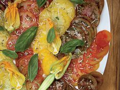 """Heirloom Tomato Salad 