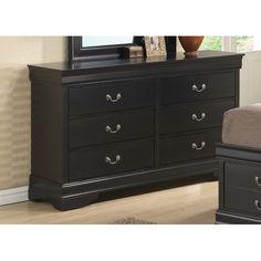 Found it at Wayfair Supply - Louis Philippe 6 Drawer Dresser