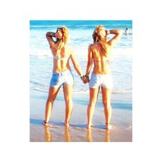 Beaches ❤ liked on Polyvore featuring best friends, pictures, people, friends and summer