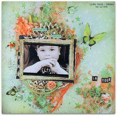 Juin 2015 - Guest designer for 13 Arts - Lydie Denis - Lilibleu