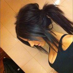 nice black hair