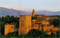 This was an enchanting place. I would love to go back. The Alhambra in Granada, Spain