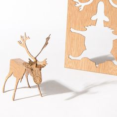 Origami Wooden Cards by Formes Berlin | MONOQI