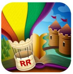 Free Reading Rainbow App: Learn & Read with A Library of Children's Books, Kids Videos & Educational Games Kindle Fire Apps, Burton Kids, Ios App Icon, Educational Apps For Kids, App Icon Design, Authors Purpose, Reading Rainbow, Free Reading, Childrens Books