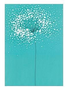 Dandelion (Print by Takashi Sakai)