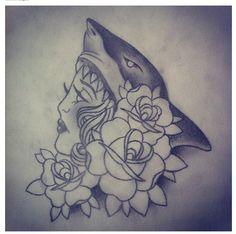 Shark girl by Paula Hathaway