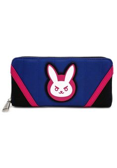 Overwatch D.Va Bunny Heroes Pink and Blue Wallet by Loungefly NEW! FREE  SHIPPING 610c93ee20276