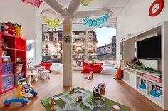 Children's Playroom at the Grand Hotel Kempinski Geneva - Geneva - Switzerland