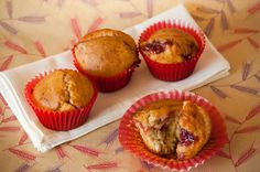 Cupcakes are my new love: Be My (Not So Sweet) Valentine - Muffins con Mermelada