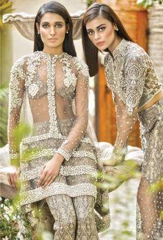 "sarahsforeverinfinite: ""highfashionpakistan: ""Faraz Manan, Spring/Summer, 2015 "" Loving this "" Pakistani Couture, Indian Couture, Pakistani Bridal, Pakistani Outfits, Indian Bridal, Indian Outfits, Pakistan Fashion, India Fashion, Asian Fashion"