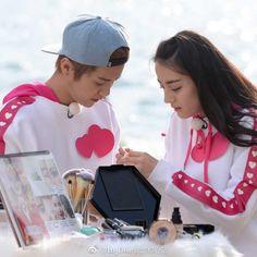 Cute Couple Images, Couples Images, Cute Couples, Keep Running, Running Man, Luhan, Ancient Armor, Kim Ji Won, Sweet Couple