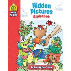 Hidden Pictures Alphabet, Ages 5 and Up  (Activity Zone series)