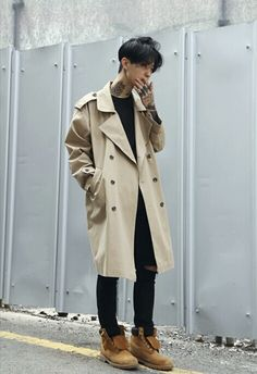 Korean male model | male outfit | asian