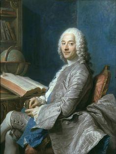 M. Duval de l'Épinoy by Maurice Quentin de La Tour