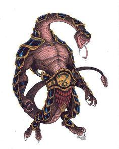 """RATTLOR - Es el general de las tropas de King Hiss. En el episodio """" Snake Pit """", el general Rattlor es el primer hombre de la serpiente liberado por Kobra Khan . es una figura imponente y un táctico astuto que sirve como mano derecha del rey serpiente. También se desarrolla gradualmente una rivalidad con Kobra Khan que intenta reemplazarlo como teniente del rey de Hiss."""