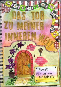 Meine Zentangle und Journal Welt: Meine Haustür by Monika