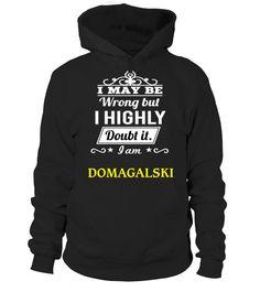 DOMAGALSKI  #birthday #october #shirt #gift #ideas #photo #image #gift #costume #crazy #dota #game #dota2 #zeushero