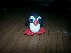 Pinguino in fimo