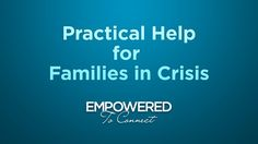 Practical Help for Families in Crisis by Tapestry. Dr. Karyn Purvis talks about a few simple, yet tangible steps families can take in the midst of the crisis they may experience when parenting a child from a hard place.