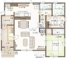 Room Planning, House Layouts, Sims, House Plans, Floor Plans, Japan, Flooring, How To Plan, Arquitetura