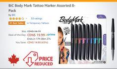 Mark Tattoo, Temporary Tattoo, Markers, Flexibility, Tattoos, Day, Tips, Temp Tattoo, Tatuajes
